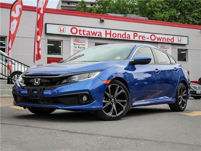 2019 Honda Civic Sport (Stk: H90310) in Ottawa - Image 1 of 29