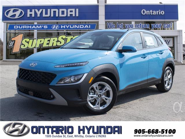 2022 Hyundai Kona 2.0L Preferred Sun & Leather Package (Stk: 764313) in Whitby - Image 1 of 21