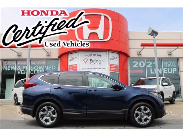 2019 Honda CR-V EX (Stk: U10011) in Greater Sudbury - Image 1 of 36