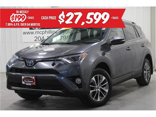 2017 Toyota RAV4 Hybrid LE+ (Stk: C184352A) in Winnipeg - Image 1 of 25