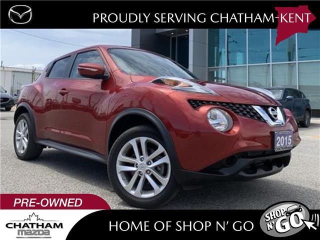 2015 Nissan Juke SV (Stk: UN2620) in Chatham - Image 1 of 26
