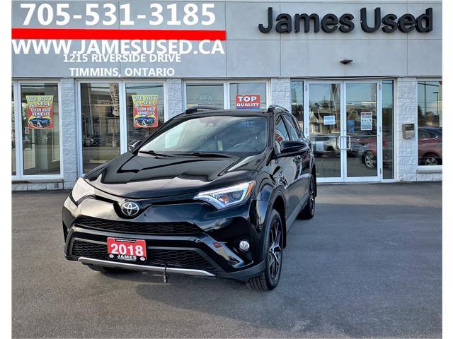 2018 Toyota RAV4 SE (Stk: P02943) in Timmins - Image 1 of 14
