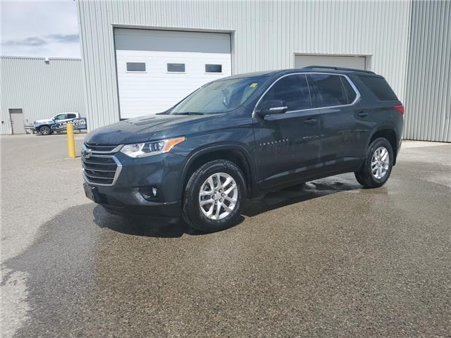 2021 Chevrolet Traverse LT Cloth (Stk: P21304A) in Timmins - Image 1 of 10