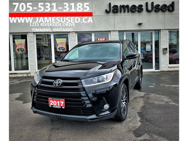 2017 Toyota Highlander XLE (Stk: P02952) in Timmins - Image 1 of 14
