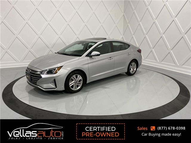 2020 Hyundai Elantra Preferred w/Sun & Safety Package (Stk: NP7862) in Vaughan - Image 1 of 27