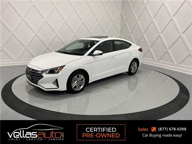 2020 Hyundai Elantra Preferred w/Sun & Safety Package (Stk: NP4052) in Vaughan - Image 1 of 27