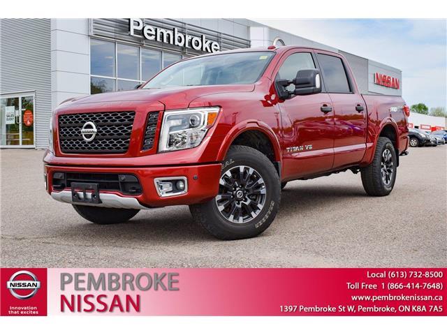 2019 Nissan Titan PRO-4X (Stk: P224) in Pembroke - Image 1 of 30