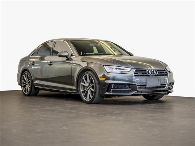 2017 Audi A4 2.0T Progressiv (Stk: PA871) in Ottawa - Image 1 of 21