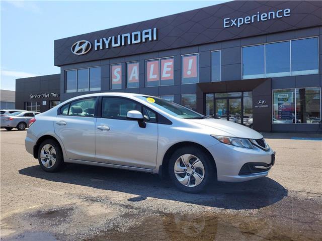 2013 Honda Civic LX (Stk: N1028A) in Charlottetown - Image 1 of 9