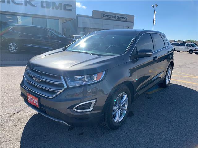 2018 Ford Edge SEL (Stk: 2FMPK4) in Strathroy - Image 1 of 10