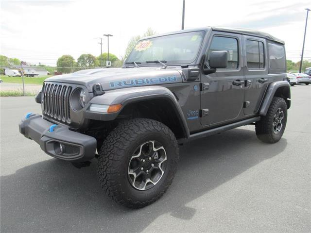 2021 Jeep Wrangler Unlimited 4xe Rubicon (Stk: 2021-T66) in Bathurst - Image 1 of 14