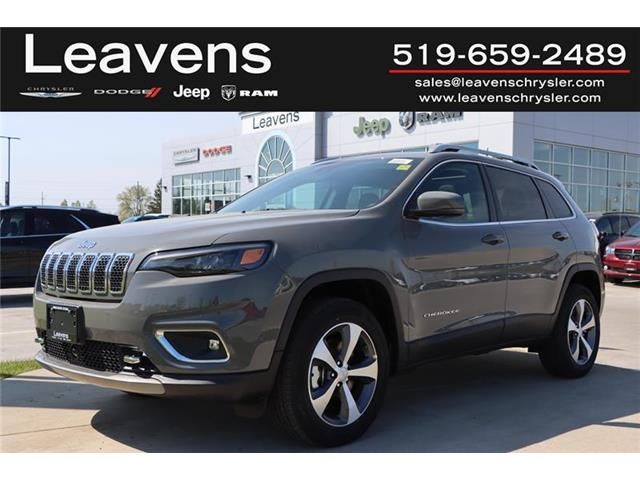 2021 Jeep Cherokee Limited (Stk: LC21096) in London - Image 1 of 22
