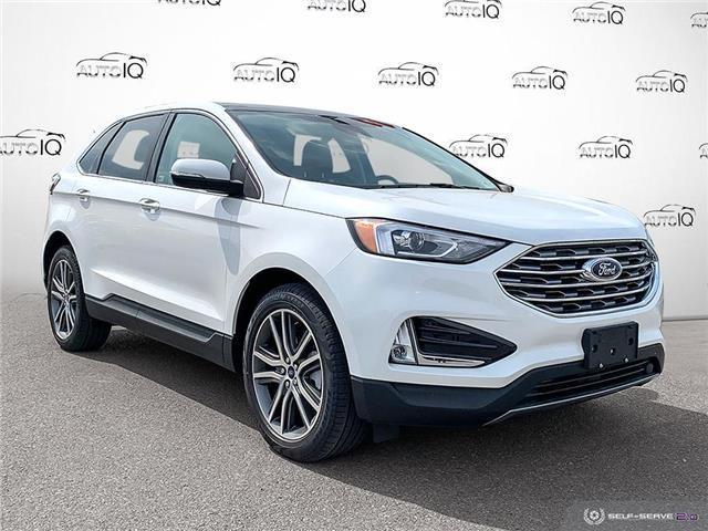 2021 Ford Edge Titanium (Stk: S1295) in St. Thomas - Image 1 of 27