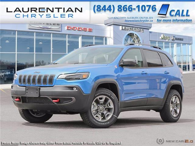 2021 Jeep Cherokee Trailhawk (Stk: 21019D) in Greater Sudbury - Image 1 of 23