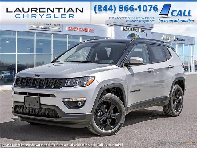 2021 Jeep Compass Altitude (Stk: 21028) in Greater Sudbury - Image 1 of 22