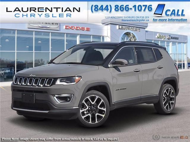 2021 Jeep Compass Limited (Stk: 21069) in Greater Sudbury - Image 1 of 22