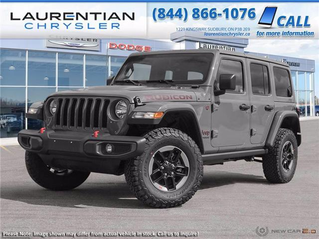 2021 Jeep Wrangler Unlimited 4xe Rubicon (Stk: 21269) in Greater Sudbury - Image 1 of 23