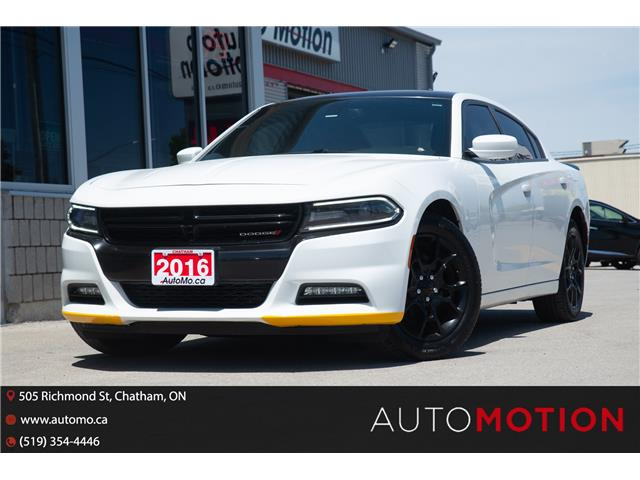 2016 Dodge Charger SXT (Stk: 21894) in Chatham - Image 1 of 24