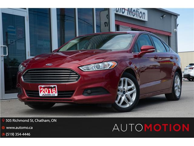 2016 Ford Fusion SE (Stk: 21868) in Chatham - Image 1 of 22