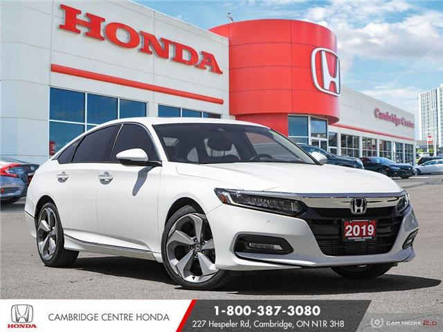 2019 Honda Accord Touring 1.5T (Stk: 21841A) in Cambridge - Image 1 of 27