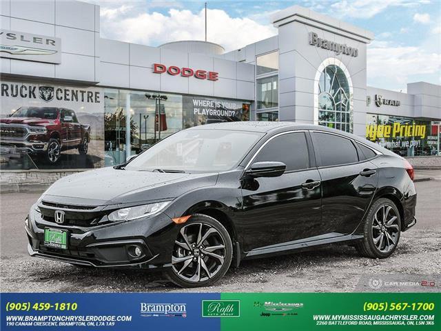 2020 Honda Civic Sport (Stk: 14067) in Brampton - Image 1 of 30