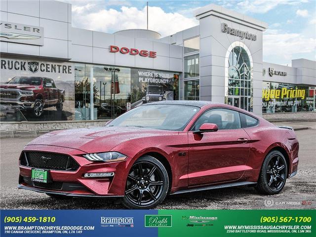 2019 Ford Mustang GT Premium 1FA6P8CF5K5177384 14073 in Brampton