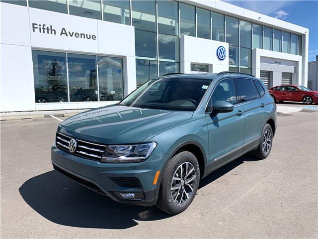 2021 Volkswagen Tiguan Comfortline (Stk: 21256) in Calgary - Image 1 of 16