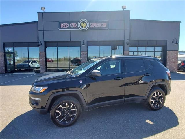 2019 Jeep Compass Trailhawk (Stk: UC4145) in Thunder Bay - Image 1 of 23