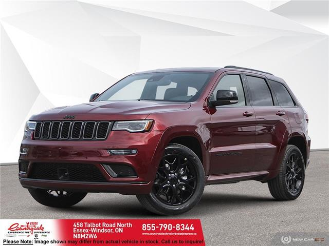 2021 Jeep Grand Cherokee Limited (Stk: 60955) in Essex-Windsor - Image 1 of 22