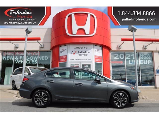 2013 Honda Civic EX (Stk: U9991A) in Greater Sudbury - Image 1 of 35