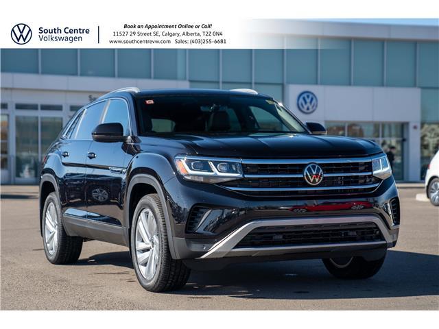 2021 Volkswagen Atlas Cross Sport 3.6 FSI Highline (Stk: 10282) in Calgary - Image 1 of 45