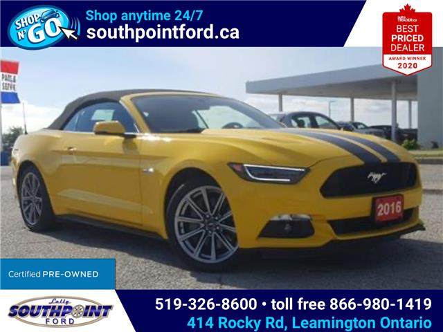 2016 Ford Mustang GT Premium (Stk: S7002A) in Leamington - Image 1 of 30