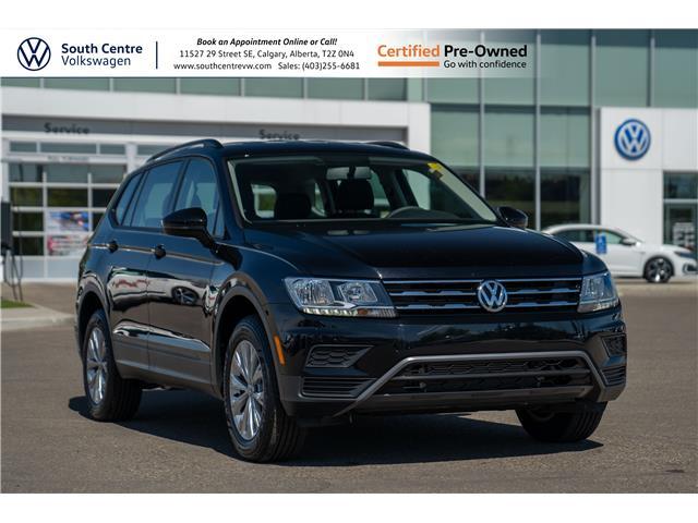 2020 Volkswagen Tiguan Trendline (Stk: U6725) in Calgary - Image 1 of 35