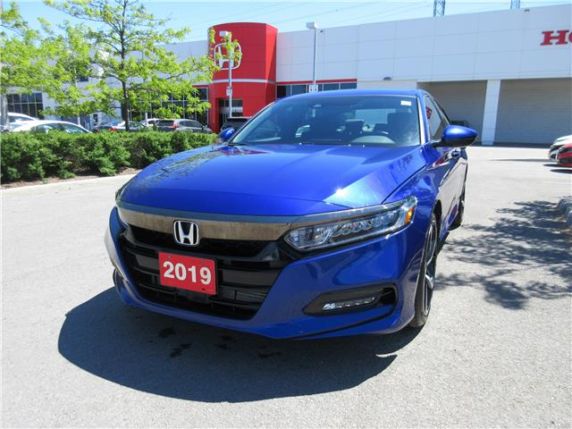 2019 Honda Accord Sport 1.5T (Stk: VA4211) in Ottawa - Image 1 of 18