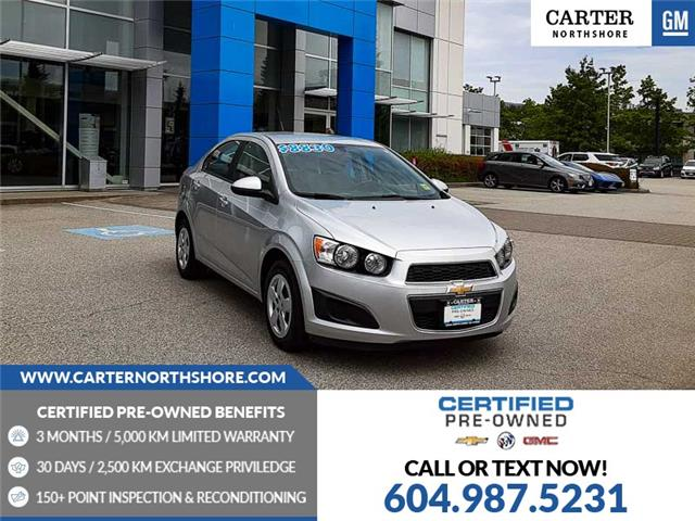 2014 Chevrolet Sonic LS Auto (Stk: 975161) in North Vancouver - Image 1 of 27