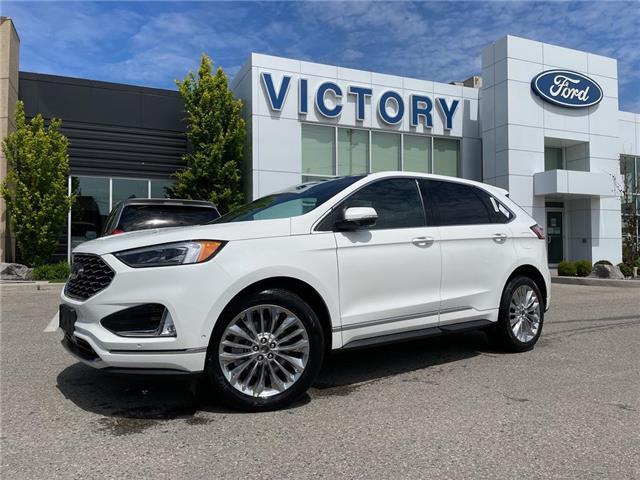2021 Ford Edge Titanium (Stk: VEG20334) in Chatham - Image 1 of 16