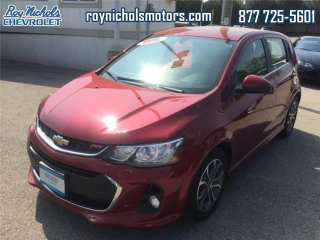 2017 Chevrolet Sonic LT Auto (Stk: P6726) in Courtice - Image 1 of 13