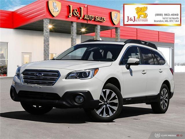 2017 Subaru Outback 3.6R Limited (Stk: J21076) in Brandon - Image 1 of 27