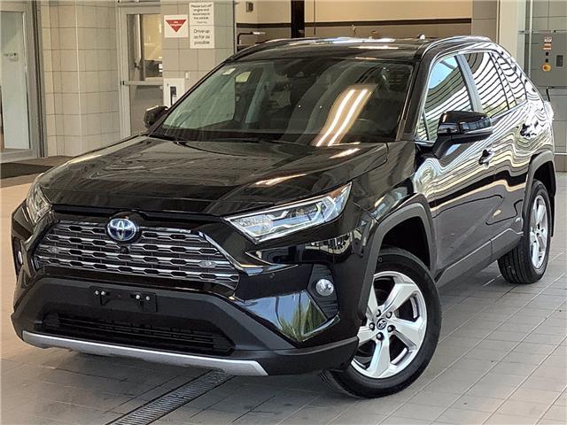 2019 Toyota RAV4 Hybrid Limited (Stk: P19444) in Kingston - Image 1 of 30