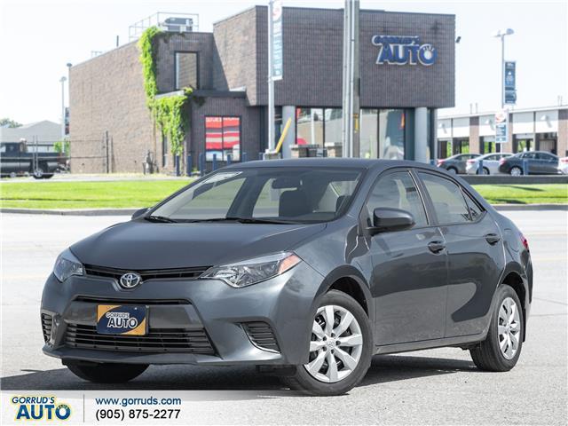 2015 Toyota Corolla LE (Stk: 471089) in Milton - Image 1 of 17