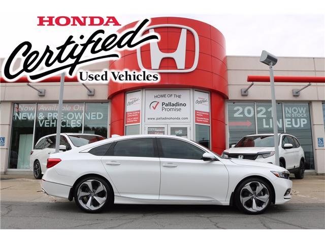 2019 Honda Accord Touring 1.5T (Stk: BC0161) in Greater Sudbury - Image 1 of 40