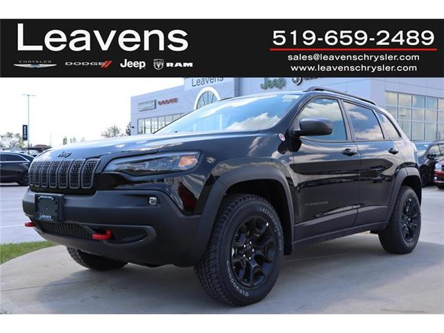 2021 Jeep Cherokee Trailhawk (Stk: LC21226) in London - Image 1 of 25