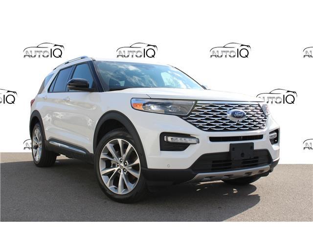 2021 Ford Explorer Platinum (Stk: 210351) in Hamilton - Image 1 of 28