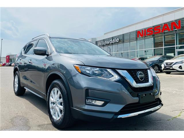 2019 Nissan Rogue SV (Stk: N2055A) in Thornhill - Image 1 of 22