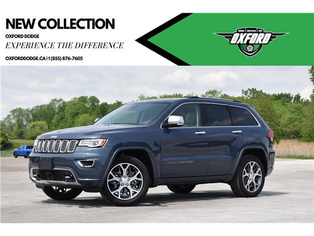 2021 Jeep Grand Cherokee Overland (Stk: 21457) in London - Image 1 of 26