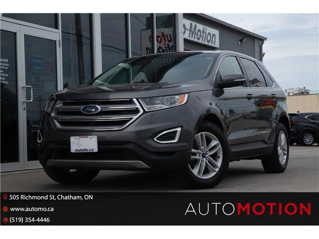 2017 Ford Edge SEL (Stk: 21975) in Chatham - Image 1 of 24