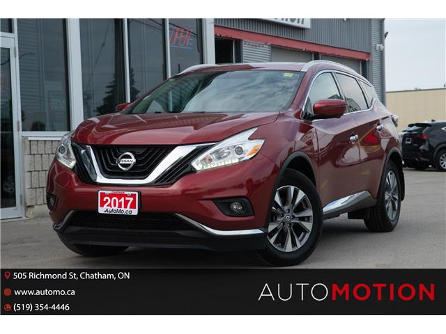 2017 Nissan Murano  (Stk: 21974) in Chatham - Image 1 of 27