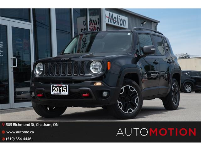 2015 Jeep Renegade Trailhawk (Stk: 21925) in Chatham - Image 1 of 24