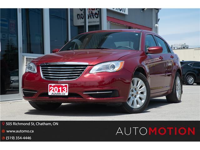 2013 Chrysler 200 LX (Stk: 21887) in Chatham - Image 1 of 18