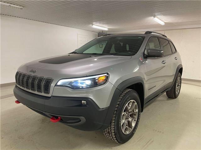 2020 Jeep Cherokee Trailhawk 1C4PJMBX8LD570337 21080a in Mont-Joli